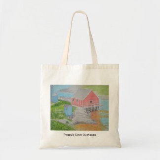 Peggy's Cove Outhouse Tote Bag