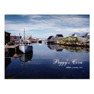 Peggy's Cove Postcard