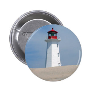 Peggy's Point Lighthouse Buttons