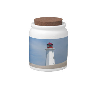 Peggy's Point Lighthouse Candy Jars