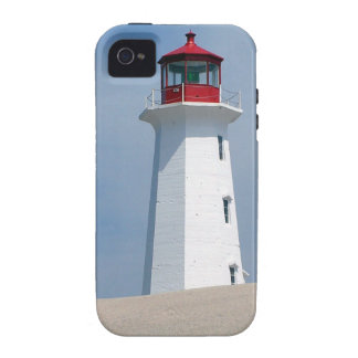 Peggy's Point Lighthouse Vibe iPhone 4 Cover