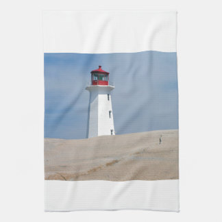 Peggy's Point Lighthouse Kitchen Towel