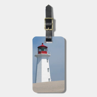 Peggy's Point Lighthouse Tag For Luggage