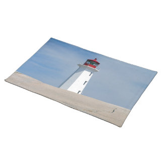 Peggy's Point Lighthouse Cloth Place Mat