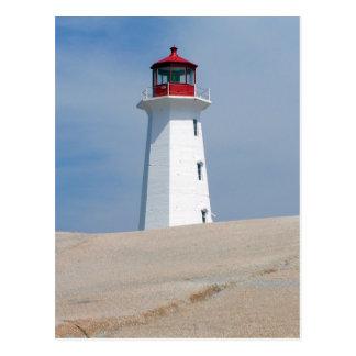 Peggy's Point Lighthouse Postcard