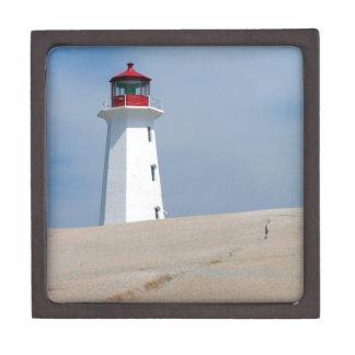 Peggy's Point Lighthouse Premium Trinket Boxes