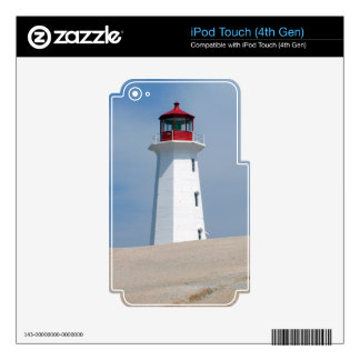Peggy's Point Lighthouse Decals For iPod Touch 4G