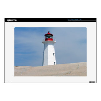 """Peggy's Point Lighthouse Skin For 15"""" Laptop"""