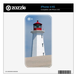 Peggy's Point Lighthouse Decal For iPhone 4