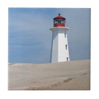 Peggy's Point Lighthouse Ceramic Tiles