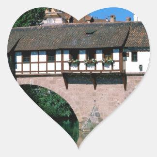 Pegnitz River , Germany Heart Sticker