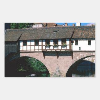 Pegnitz River , Germany Rectangular Sticker