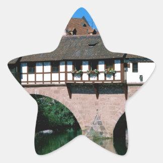 Pegnitz River , Germany Star Sticker