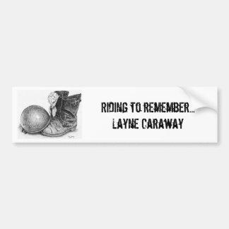 Pegs Down Memorial Bumper Sticker