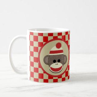 Pegue al muchacho del mono con rojo y los taza clásica
