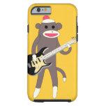 Pegue las rocas del mono con la guitarra eléctrica funda de iPhone 6 tough