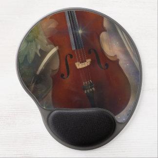 Pegue un acorde con este diseño musical hermoso alfombrilla de ratón con gel