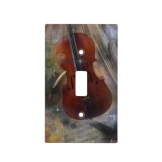 Pegue un acorde con este diseño musical hermoso cubiertas para interruptor