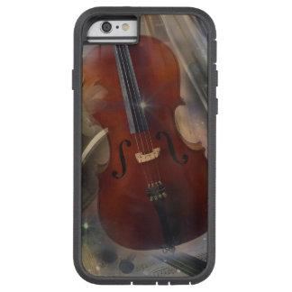 Pegue un acorde con este diseño musical hermoso funda tough xtreme iPhone 6