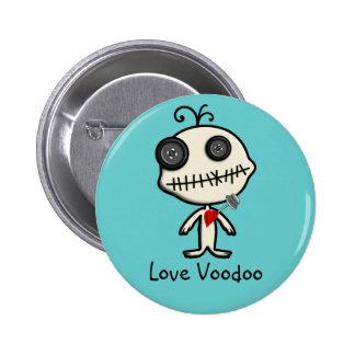 Pegue un Pin en el día de San Valentín y hágase co Pin Redondo 5 Cm