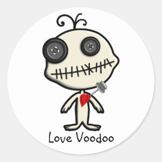 Pegue un Pin en el día de San Valentín y hágase Pegatina Redonda