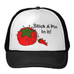 ¡Pegue un Pin en él! (Tomate de costura) Gorro