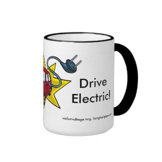 ¡Pegúelo a la OPEP! ¡Conduzca eléctrico!  Taza de