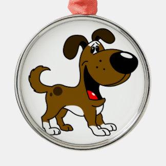 PEGUI Pups - Boots Metal Ornament