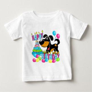 PEGUI Pups Happy Birthday - Bubba Baby T-Shirt