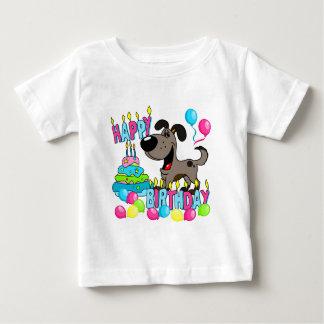 PEGUI Pups Happy Birthday - Pauper Baby T-Shirt