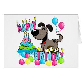 PEGUI Pups Happy Birthday - Pauper Greeting Card
