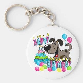 PEGUI Pups Happy Birthday - Pauper Keychain
