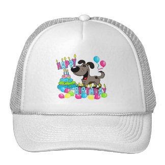 PEGUI Pups Happy Birthday - Pauper Mesh Hat