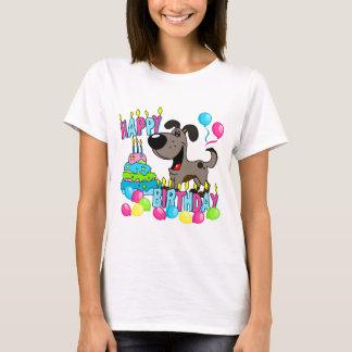 PEGUI Pups Happy Birthday - Pauper T-Shirt