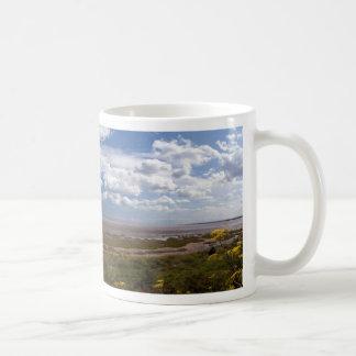 Pegwell Bay Panorama Coffee Mug