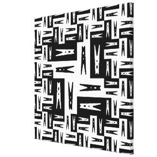 "Pegworld n10 - Frame thickness: 0.75"" Canvas Print"