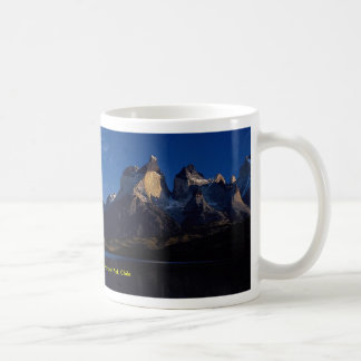 Pehoe Lake, Torres del Paine National Park, Chile Coffee Mug