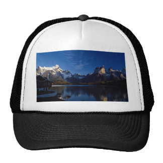 Pehoe Lake, Torres del Paine National Park, Chile Trucker Hat