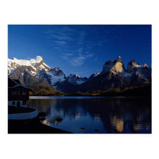 Pehoe Lake, Torres del Paine National Park, Chile Postcard