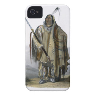 Pehriska-Ruhpa, a Minatarre or Big-Bellied Indian, iPhone 4 Covers