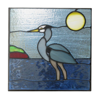 PEI Blue Heron Tile