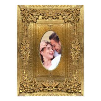 Peiffer Formal  Photo Wedding  5.5 x 7.5 Card
