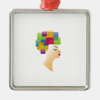 Peinado abstracto ornaments para arbol de navidad