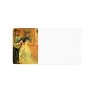 Peinado de Berthe Morisot Etiqueta De Dirección