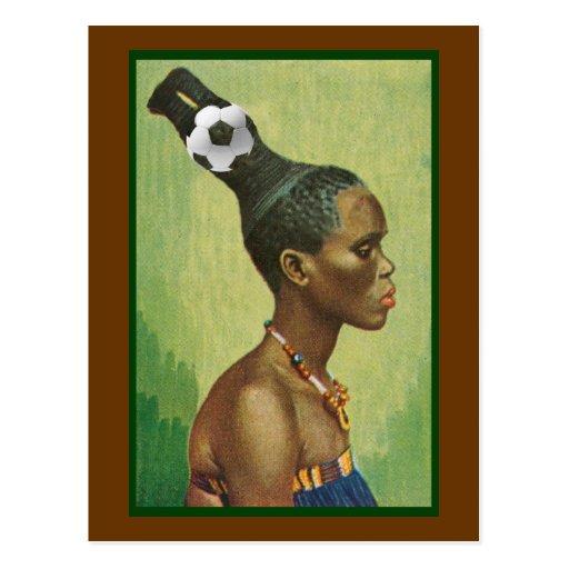 Peinados del Zulú en 2010 para los amantes del fút Postal