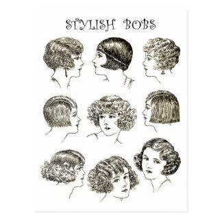 Peinados retros elegantes de Bob Postal