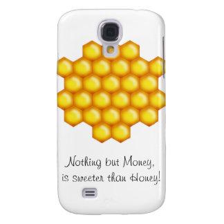 peine de la abeja de la miel funda para galaxy s4