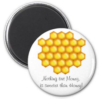 peine de la abeja de la miel imán para frigorifico