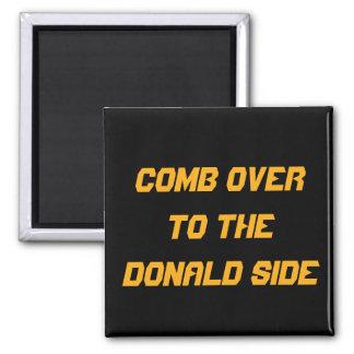 Peine encima al lado de Donald: IMÁN DE LA COCINA
