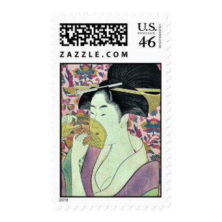 Peine por Kitagawa, Utamaro Ukiyoe Envio